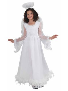Fluttery Angel Costume | Wholesale Angel Costumes for Girls