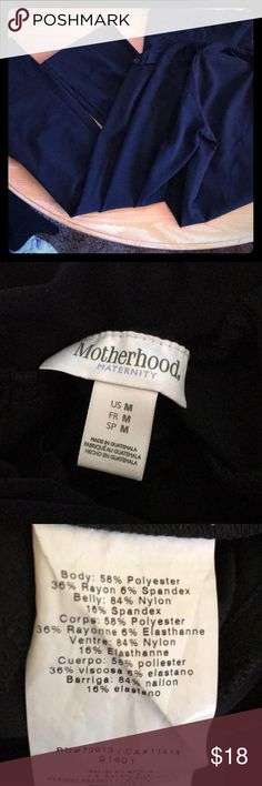 Maternity pants! Comfy and cute for the office. Black motherhood maternity pants. Size medium wore a handful of times. Super comfy and still professional for the office. Medium size maternity fit size 10-14 Motherhood Maternity Pants Trousers