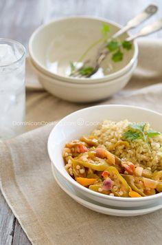 Molondrones Guisados Recipe (Stewed Okra)