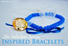 DIY Tutorial: DIY Jewelry / DIY The Selection Series Maxon Inspired Bracelet - BeadCord  I need to do this!!