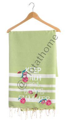 Handdoek met flexfolie