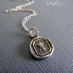 Plum and Posey - Friendship Necklace of a Rose and Crown - Friendship, Love and Truth, $54.38 (http://www.plumandposey.com/friendship-necklace-of-a-rose-and-crown-friendship-love-and-truth/)