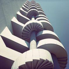 Le Brasilia in Marseille, France by architect Fernand Boukobza.