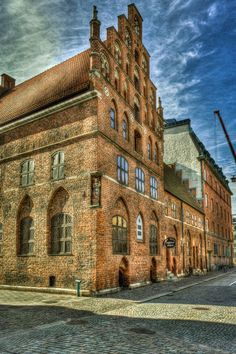 House since 1525, Malmo, Sweden
