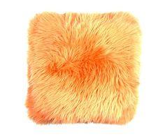 Cojín de piel de oveja Brianna - 35x35 cm
