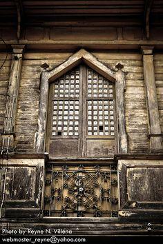 "Cebu, Philippines. BBC Boracay says: "" Amazing Capiz shell window - Please house wait for us..."""