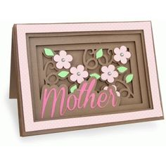 Silhouette Design Store - View Design #78244: mother shadow box card