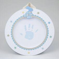 LULLABY BOY BABY'S 1ST PRINTS KIT