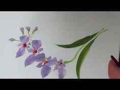 「ほのぼの一筆画」 バラの花束 水彩画 - YouTube Watercolor Paintings, Watercolors, Watercolour Tutorials, Japanese Art, Art Tutorials, Orchids, Diy And Crafts, Plants, Board
