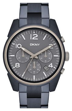 DKNY 'Crosby' Chronograph Bracelet Watch, 40mm available at #Nordstrom