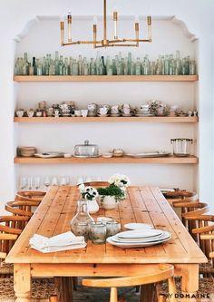 lauren conrad's dining room