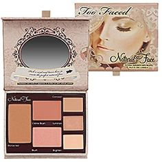 Sephora: Too Faced Natural Face Natural Radiance Face Palette: Combination Sets - StyleSays
