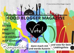 Das Food Blogger Magazine by mamasu Magazine, Blog, Author, Cooking Recipes, Magazines