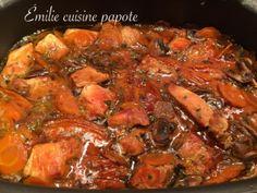Mijoté de porc | Emilie cuisine et papote !