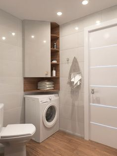 Laundry Room Bathroom, Bathroom Toilets, Bathroom Layout, Bath Room, Bathroom Design Luxury, Modern Bathroom Decor, Bathroom Design Small, Bathroom Design Inspiration, Bad Inspiration
