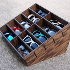 Sunglasses Display Case - Found on obscure website - could make custom?