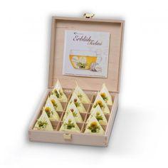 Erblüh-Teelini 12er-Set Weißer Tee in Holzbox von Creano jetzt im design3000.de Shop kaufen! Teelini – Die revolutionäre Neuheit von Creano! Bei...