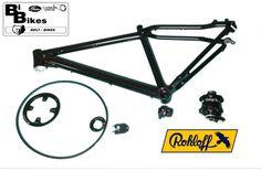 Bibikes kan uit voorraad leveren frameset voor rohloff naven incl. tandriem set van gatescarbondrive