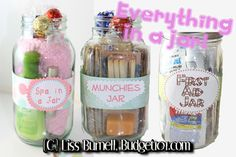 Everything and Anything in a Jar Gift Idea