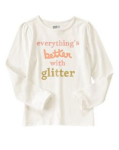 Everything Is Better With Glitter Tee