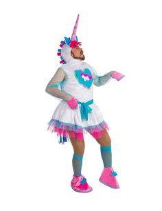Déguisement humoristique licorne homme : Ce déguisement de licorne humoristique…