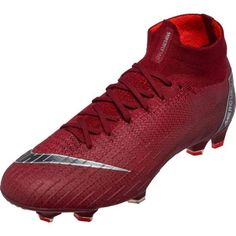 7ea8bd0426f3a Nike Superfly 6 Elite FG – Team Red Metallic Dark Grey Bright Crimson