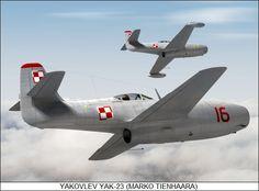 Yakovlev Yak-23 First Generation Russian Aircraft