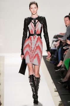 Hervé Léger by Max Azria | Fall 2012 Ready-to-Wear Collection | Style.com