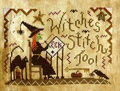 StitchWizard: Witches Stitch Too