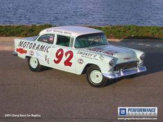 Smokey Yunick's '55 Chevrolet Guy's favorite! appreciated by Motorheads Performance www.classiccarssanantonio.com