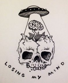 Tatto Ideas & Trends 2017 - DISCOVER skull alien tattoo Discovred by : lydie vanackere Alien Drawings, Tattoo Drawings, Cool Drawings, Tattoos, Tumblr Drawings, Small Drawings, Alien Tattoo, Fun Tattoo, Lose My Mind
