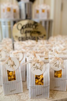 Fall Weddings: Edible Favors   DIY Fun Treats for your Guest!