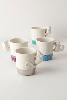See that little hedgehog on the purple mug? Adorable! (from anthropologie)