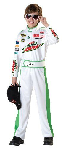California Costumes Nascar Dale Earnhardt Costume, Junior Child/Large Plus: This costume includes a jumpsuit, cap, and sunglasses. Does not include shoes. This is an officially licensed NASCAR costume. Teen Boy Costumes, Costumes For Teens, Halloween Costumes For Girls, Children Costumes, Baby Costumes, Halloween Kids, Halloween Party, Costumes For Sale, Dress Up Costumes
