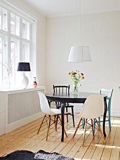 DSW apartamento estilo nórdico