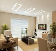 luminaria led embutir quarto - Pesquisa Google