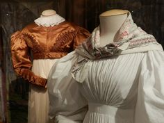Russian exhibit {love the gathered front on this white gown}