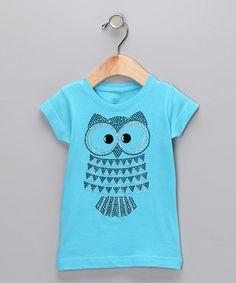 Loving this sparkly rhinestone owl shirt for  Raya!