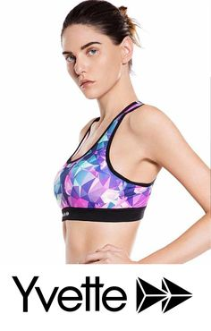 46a0978ae4258 Racerback Sports Bra! Perfect for running and training. Widen straps  support stability.  yvettesports  yvette  sports  yvettesportscom   sportswear ...