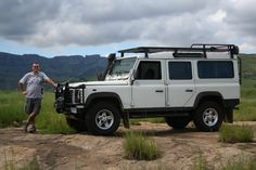 I have always loved Landies since I was very young - just had that look of adventure and was also a big fan of the Camel Trophy and the Challenge. My Land, Land Rover Defender, South Africa, Adventure, Cars, Book, Autos, Books, Adventure Game
