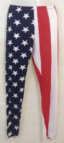 Damen Top (kurzes Über-T-Shirt mit kurzen Fledermaus-Ärmeln in Stars&Stripes-Design) mit rotem Unterzieh-Top/Träger-Shirt, zusätzlich bestellbar kombinierbare Leggings, OneSize geeignet bis Größe 40, Made in Italy Vexcon, http://www.amazon.de/dp/B00ILXQ1VK/ref=cm_sw_r_pi_dp_r4Rstb1HDKGPH