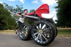 The ultimate pram, dubbed the 'vRS Mega Man-Pram' is released in conjunction with auto brand...