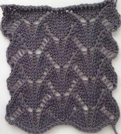 Ажурный узор спицами новые схемы. Каталог ажурных узоров для вязания спицами со схемами |