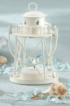 Lighthouse Tea Light Candle Holders from Wedding Favors Unlimited