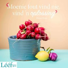 Afrikaans Quotes, Note To Self, Projects To Try, Table Decorations, Hart, South Africa, Inspiration, Bible, English
