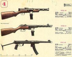 PPSh-41/ Пистолет-пулемёт Шпагина 1941
