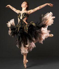 When Ballet meets Fashion...Principal Dancer Tiler Peck, in Sarah Burton Ballet Costume for Alexander McQueen.