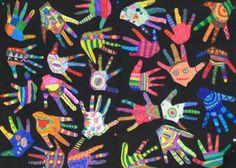 Ecole élémentaire du Boccard - SALLANCHES (74) - Arts plastiques : la galerie des CP et CE1