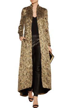 Alice + OliviaVali embellished brocade coat