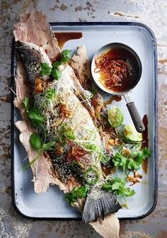 Mark Roper Hart and Co - Melbourne Based Creative Management - Photographers, Stylists And Hair and Make-Up Artists Fish Recipes, Seafood Recipes, Cooking Recipes, Healthy Recipes, I Love Food, Good Food, Yummy Food, Delicious Magazine, Seafood Dishes